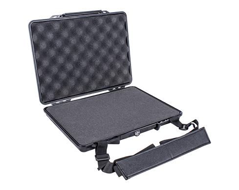 Hard Case 345x275x60mm Od With Foam Blk Water & Dust Proof For Laptop