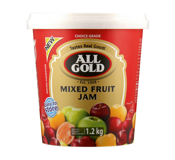 All Gold Jam Smooth Mixed Fruit (1 x 1.2kg)