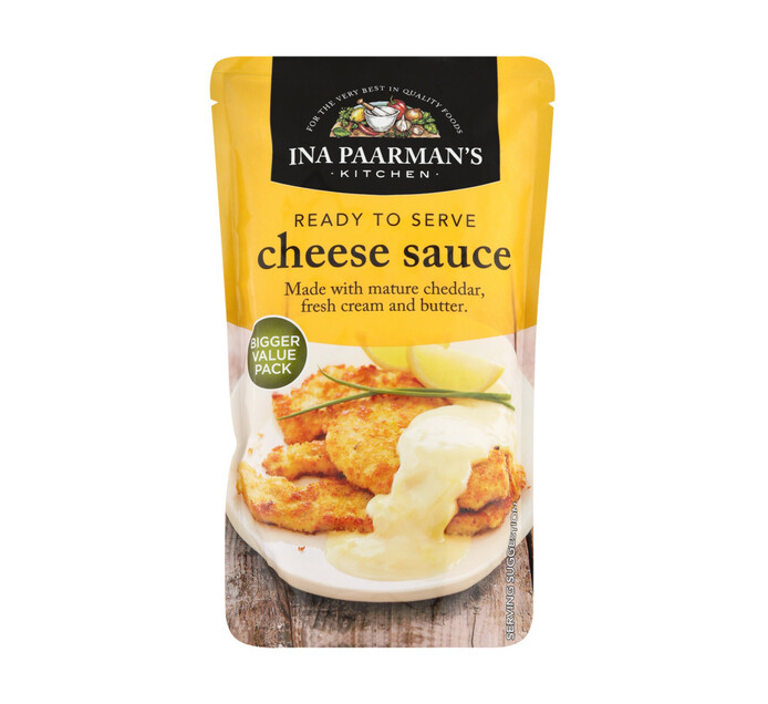 Ina Paarman Ready to Serve Sauce Cheese (1 x 400ml)