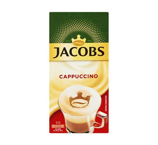 Jacobs Coffee Sticks Cappuccino (10 x 18.7G)