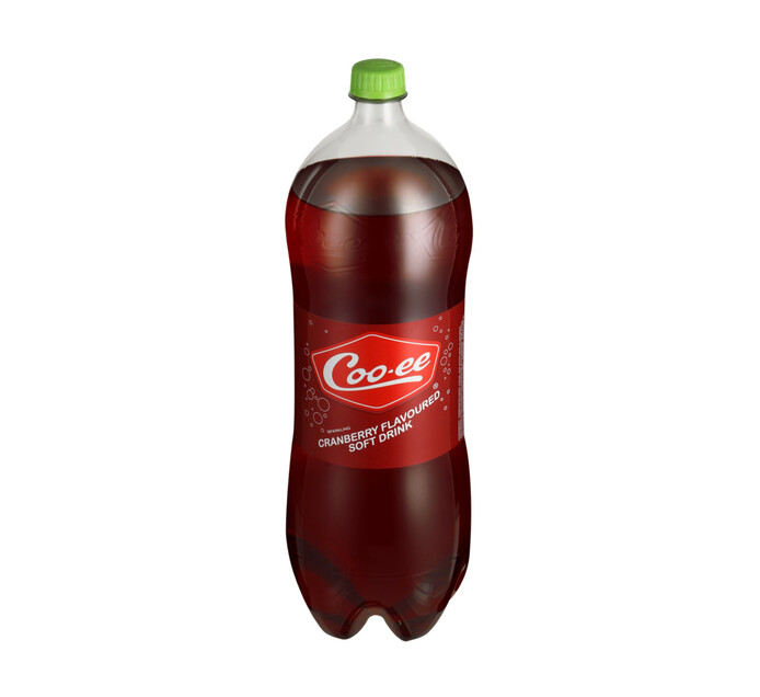 Coo-ee Soft Drink Cranberry (1 x 2l)