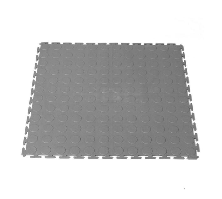 Grey color interlocking tile 1 m²