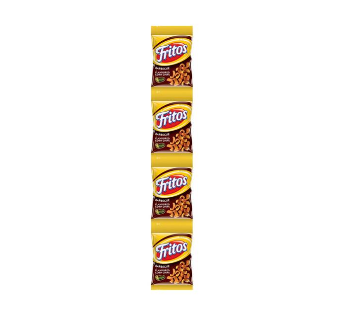 Simba Fritos Snipstrips Corn Strips Barberque (4 x 25g)