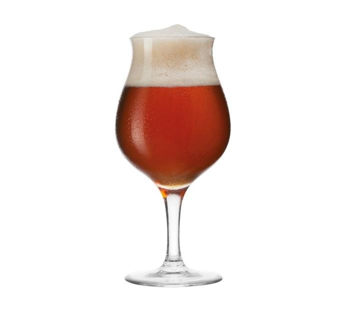 Leonardo Beer Glass Tulip Shape TAVERNA Teqton Glass 330 ml Set of 2