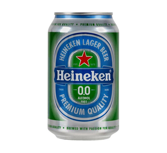 Heineken 0.0 Beer (6 x 330ml)