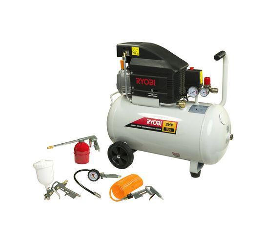 Ryobi 50 l Direct Drive Air Compressor Kit