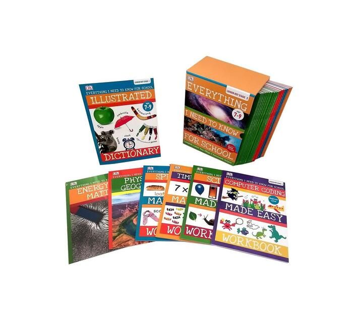 Everything I Need To Know For School - Age 7 To 9 - 30 Book Set