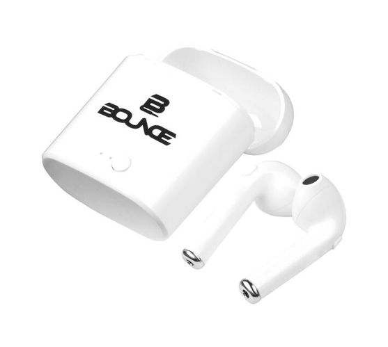Bounce Clef Series TWS Earphone Pods - White