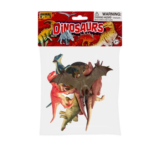 8-Pack Dinosaurs In a Bag