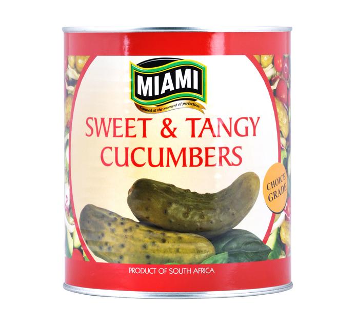 Miami Cucumbers Sweet & Tangy Cucumbers (1 x 2.9kg)