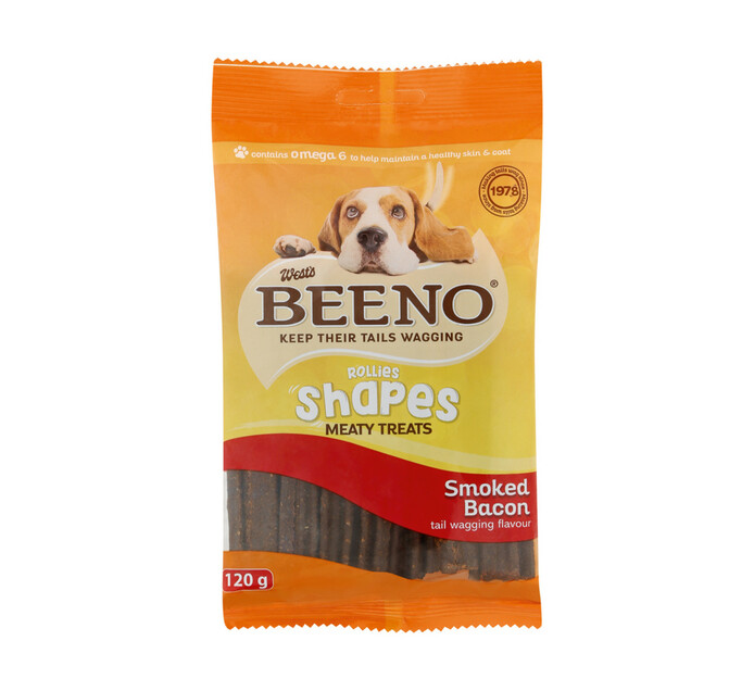 Beeno M/Treats Shapes Bacon (20 x 120g)