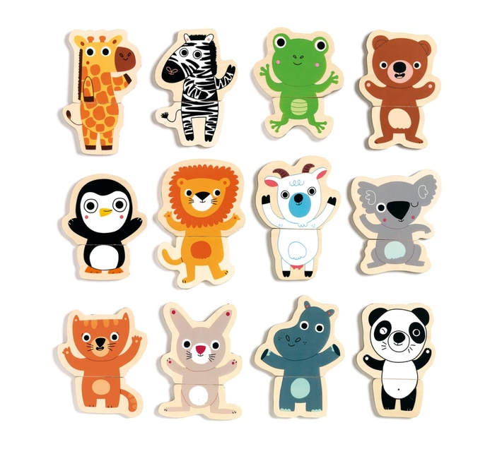 Djeco Magnetic Animal Game: Coucou