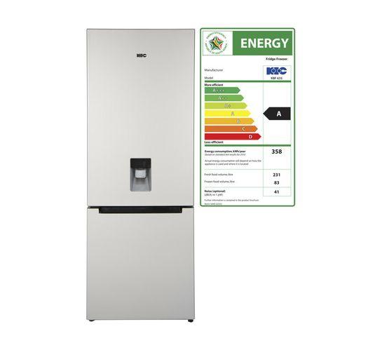 KIC 314 l Bottom Fridge/Freezer with Water Dispenser