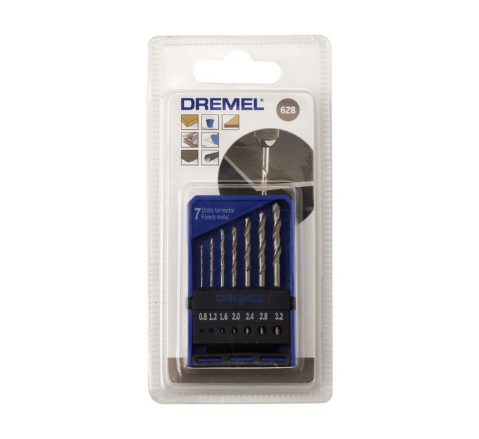 DREMEL 7 PC Precision Drill Bit Set