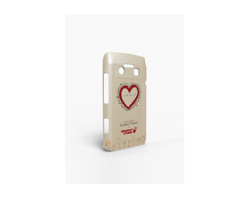 Whatever It Takes Tough Shield Blackberry 9790 Cover (Charlize T Cream)