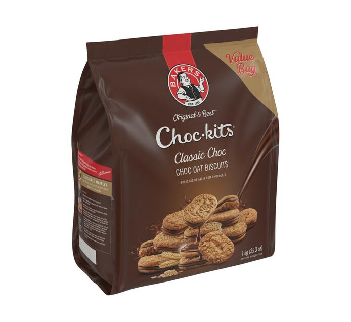 Bakers Chockits Classic Choc (1 x 1kg)