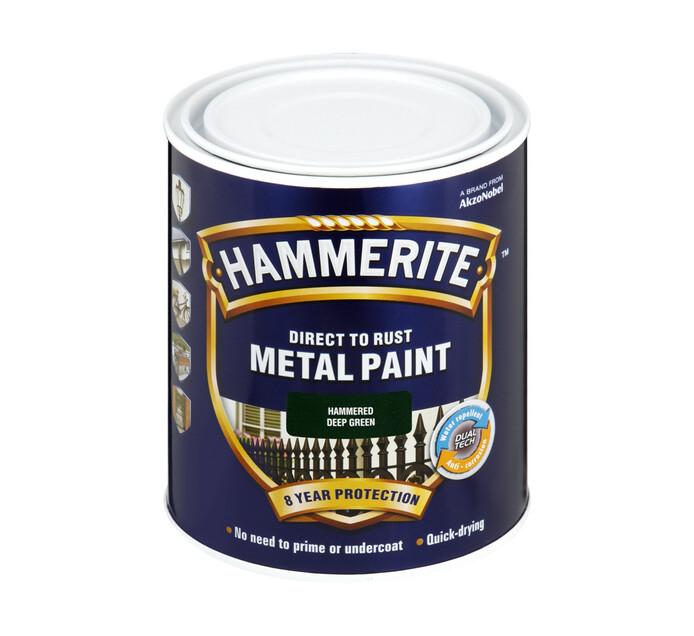 Hammerite 500ml Metal Paint Green