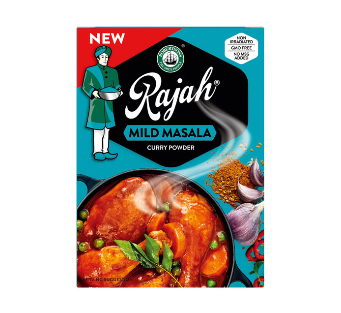 RAJAH Curry Powder Masala (10 x 50g)