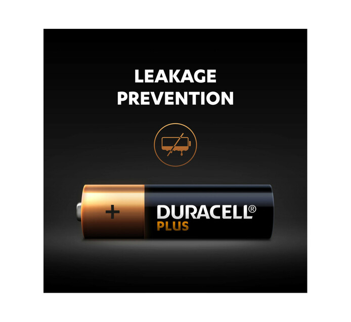 Duracell Plus Power AA 4 Pack