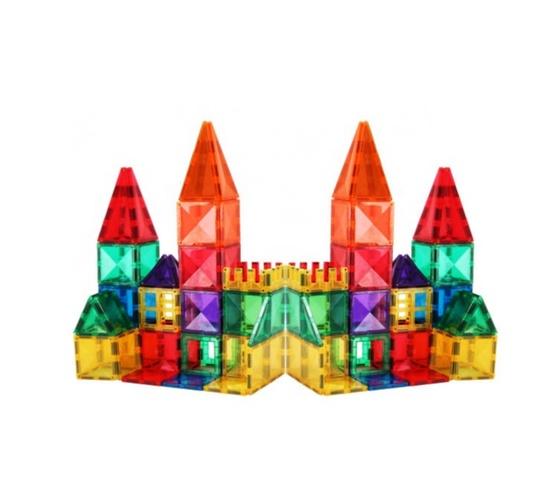 Magnetex Magnetic Building Tiles - 102 Piece