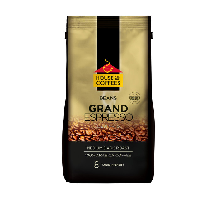House Of Coffees Coffee Beans Grand Espresso (1 x 1kg)