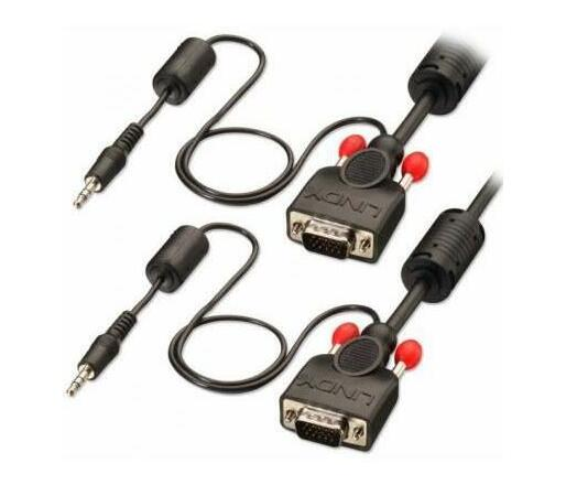 Lindy 10M Svga M - M, With Audio, Cable (37303)