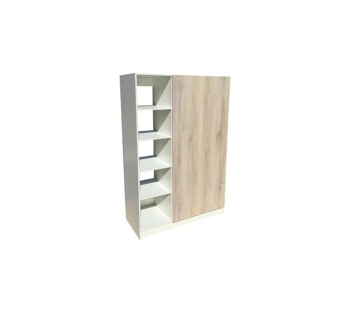 BIC1200 2Door Open Shelf Mel. Esperanza Oak