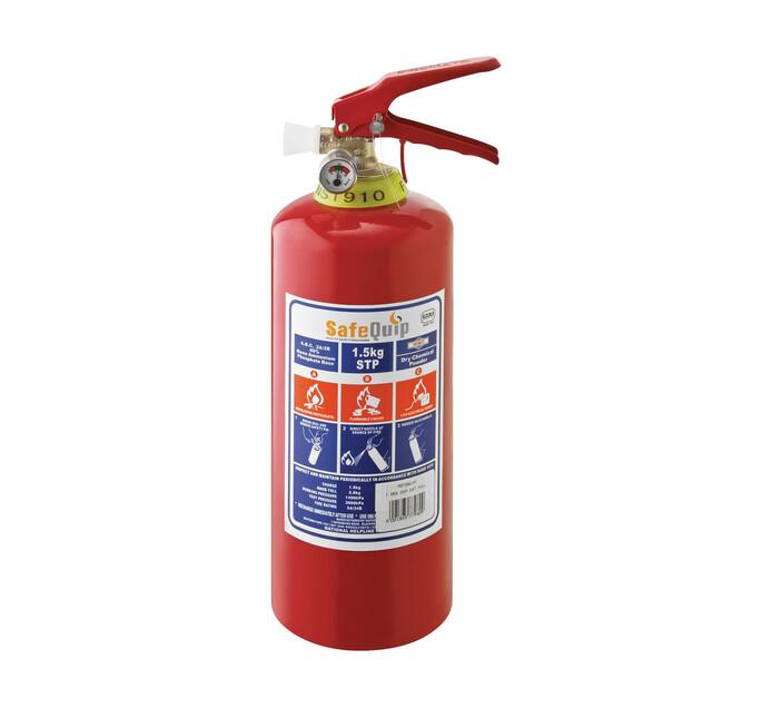 Safe Quip 1.5 kg Fire Extinguisher with Bracket