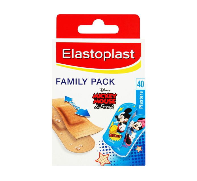 ELASTOPLAST Kids Plaster Family Pack (1 x 40pc)