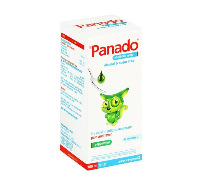 Panado Syrup Alcohol and Sugar Free (1 x 100ml)