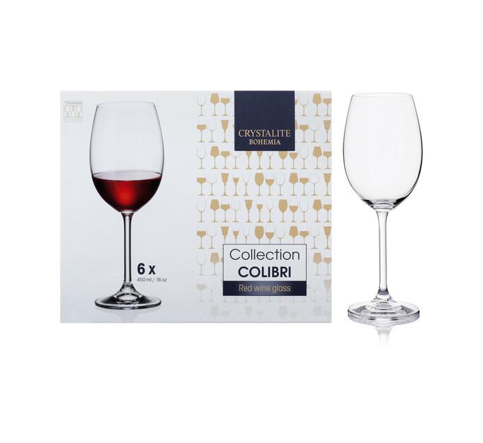 Bohemia Crystalite 450 ml Colibri Wine Glass