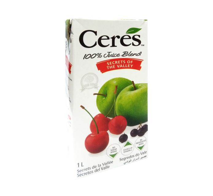 Ceres Fruit Juice Secrets Of The Valley (12 x 1L)
