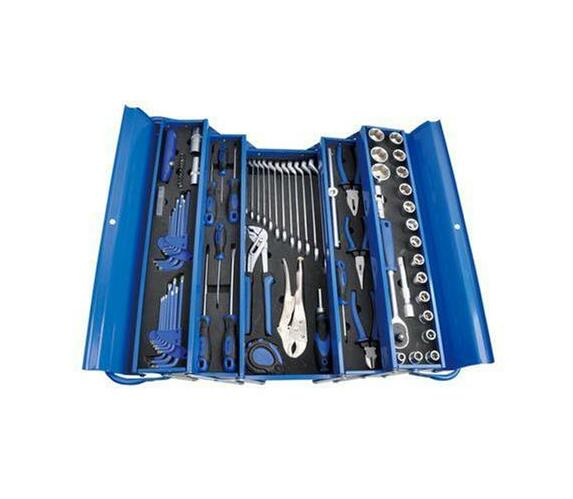 Trade Professional 85 pc Toolkit - 5 Tray Metal Cantilever Box