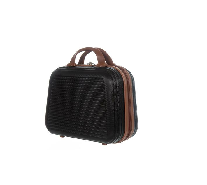 2 Piece Carry Handbag-Black