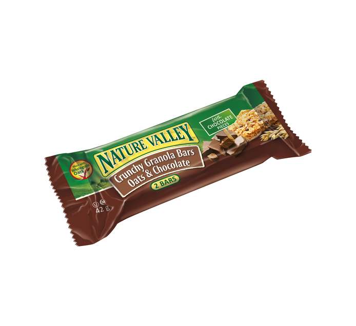 Nature Valley Granola Bars Oats & Chocolate (6 x 42g)