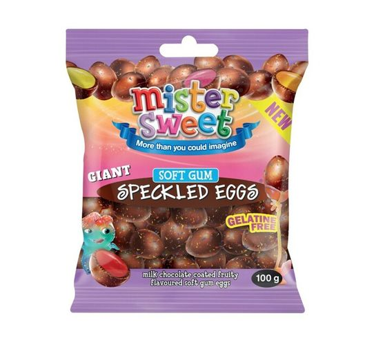 Mister Sweet Speckled Eggs Milk Choc Jelly (1 x 100g)
