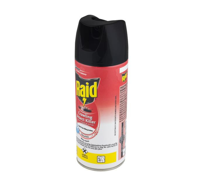 Raid Super Fast Crawling Odourless (1 x 300 ml)