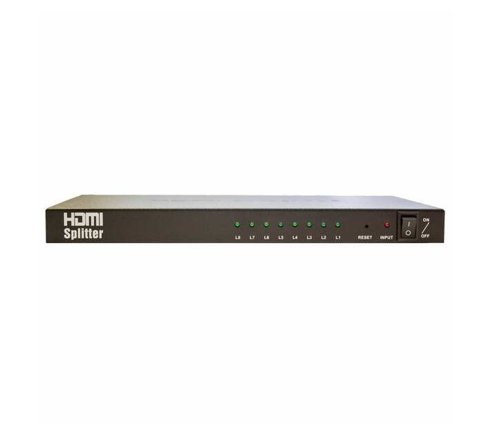 PARROT PRODUCTS Adaptor - 1 To 8 HDMI Splitter