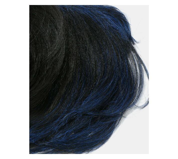 FreeTress Synthetic Hair Wig CHARLIE - Undercut Blue Black