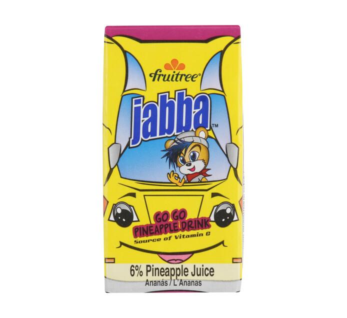 FRUITREE JABBA JUICE 160ML, PINEAPPLE