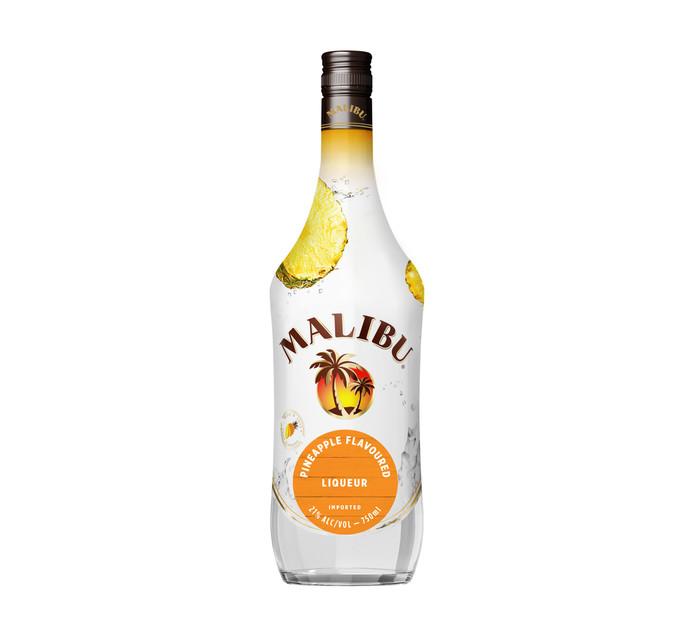 Malibu Pineapple Flavoured Rum (1 x 750 ml)