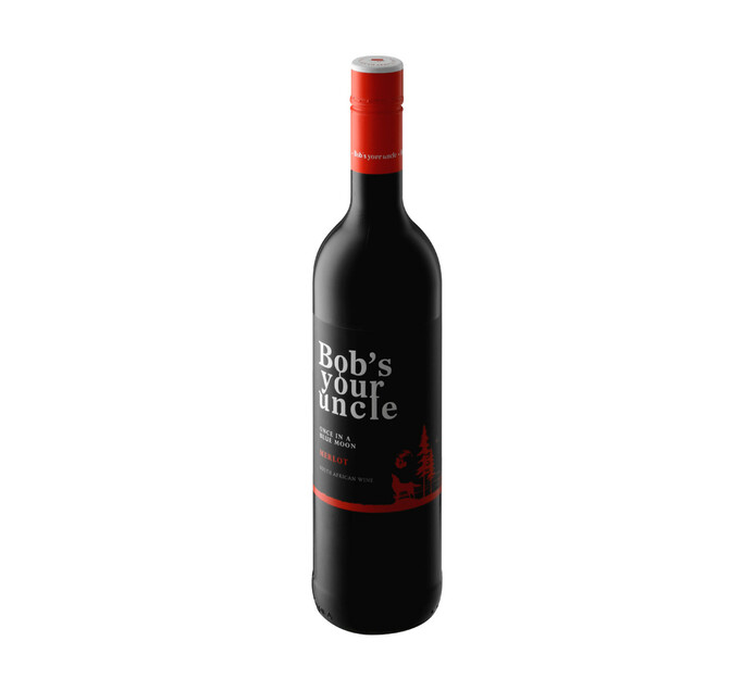 Bobs Your Uncle Once In A Blue Moon Merlot (1 x 750ml)