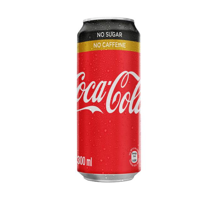 Coca Cola No Sugar No Caffeine Can (6 x 300ml)