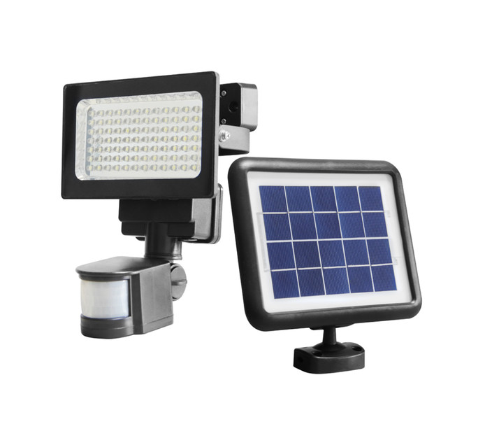 Ultra Link Solar LED Security Floodlight---Dimmable and Motion Sensor