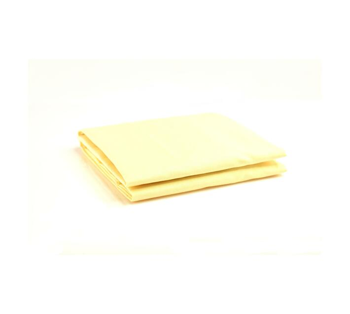 LARGE COT FITTED SHEET - LEMON