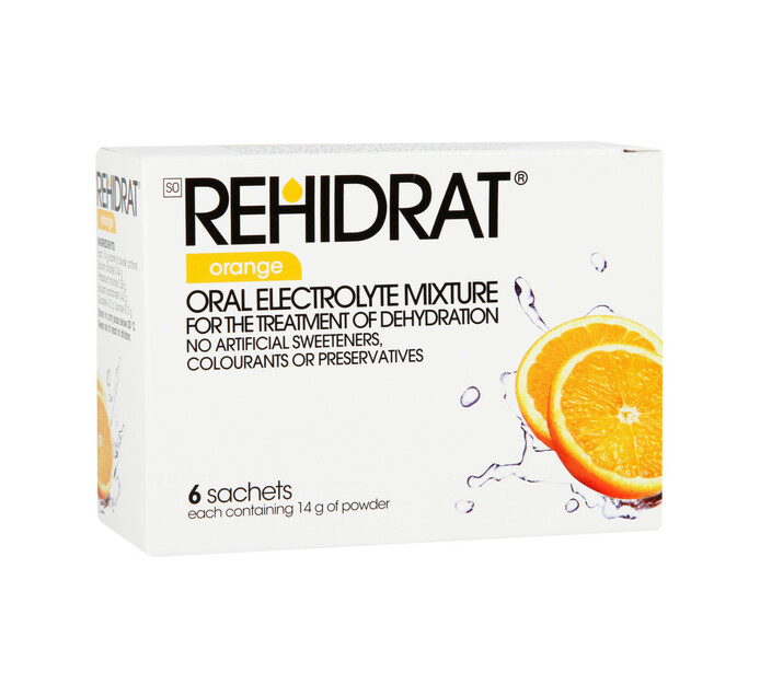 Rehidrat Hydration Powder Orange (1 x 6's)