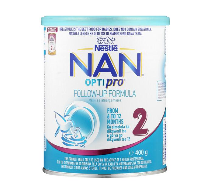 Nestle Nan Infant Milk Formula 2 Plus (1 x 400g)
