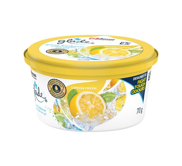 Glade Gel Air Freshner Lemon (1 x 70g)