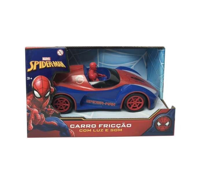 Spiderman Friction With Light and Sound