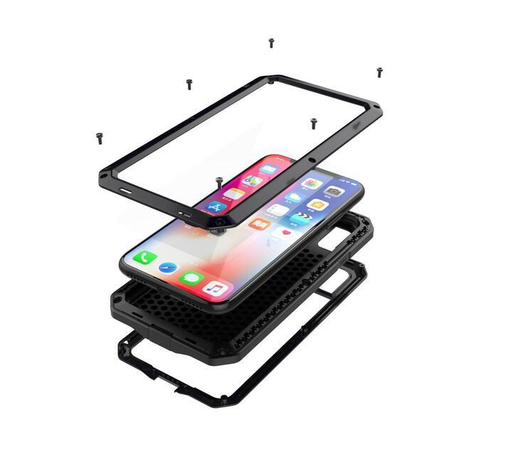 Heavy Waterproof/Shock/Dirt/Snow proof Case for iPhone XR